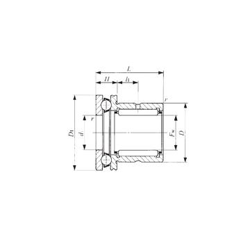 IKO NAX 1223 Complex  Bearings
