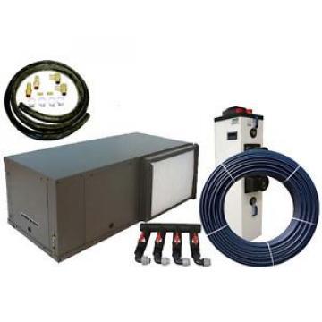 2 Stage Daikin Mcquay Horizontal Geothermal Heat Pump 25 Ton Install Package