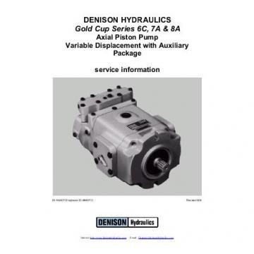 Dension Antilles gold cup piston pump P30L-7R1E-9A6-B0X-F0