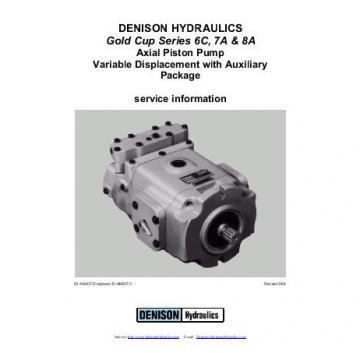 Dension Jamaica gold cup piston pump P30L-7R1E-9A8-B0X-D0