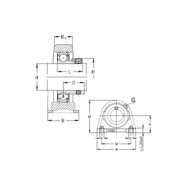 NKE PSHEY25-N Bearing  Units    #1 small image