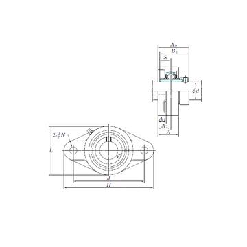 KOYO NANFL210 Bearing  Units    #1 small image