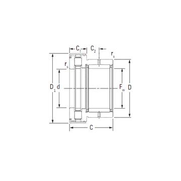 KOYO NAXR35.Z Complex  Bearings    #1 image