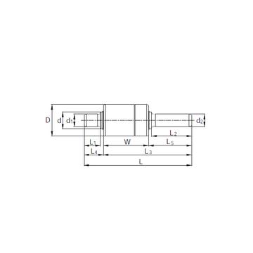 KBC RW357001 Complex  Bearings    #1 image