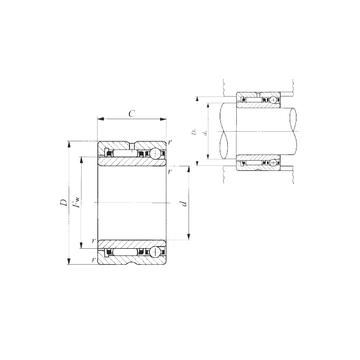 IKO NATA 5906 Complex  Bearings    #1 image