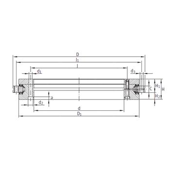 INA YRTS460 Complex  Bearings    #1 image